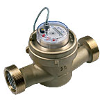 DALC - DALF - SINGLE Jet water meter, DRY dial
